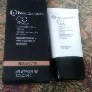Beauticontrol cc cream medium color correction
